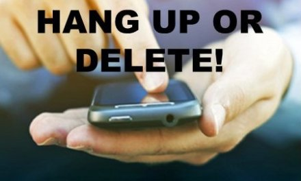 Hang up or Delete