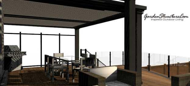 View - Rendering - Showpiece decks