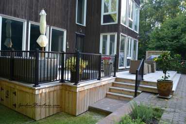 Cedar deck designers Caledon East