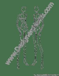 female pose croqui croquis poses front template templates figure illustration figures v3 illustrator designersnexus sketches drawing sketch walking quarter three