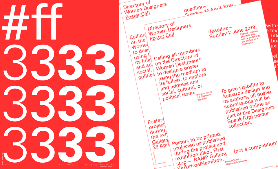 ff3333 Poster-Call2
