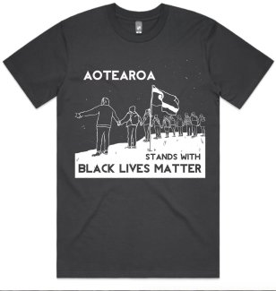 Ahilapalapa Rands / Aotearoa stands with Black Lives Matter T Shirt