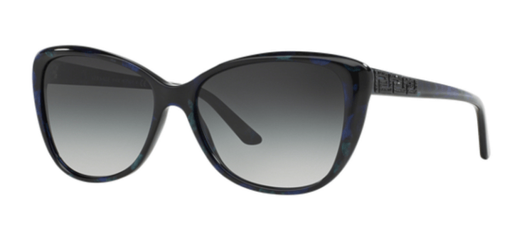 Versace Butterfly Sunglasses VE4264B 51278G Marbled Black