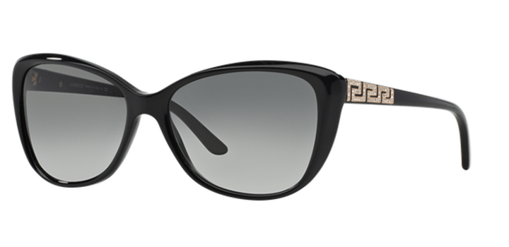 Versace Butterfly Sunglasses VE4264B GB1/11 Black