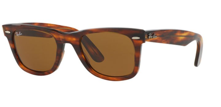Ray Ban Wayfarer Sunglasses RB2140 954 Light Havana