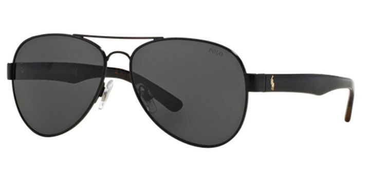 Polo Ralph Lauren Sunglasses PH3096 926787 Black