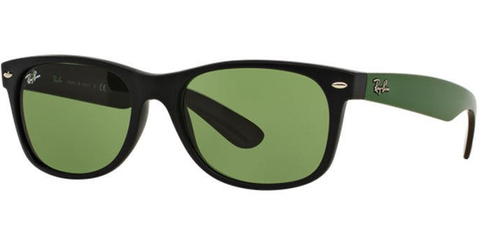 Ray Ban New Wayfarer Sunglasses RB2132 61844E Matte Black