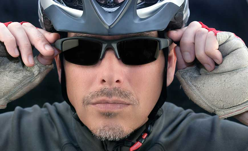 WHY SUNGLASSES ARE IMPORTANT WHEN HITTING THE SADDLE. Designer Sunglasses UK