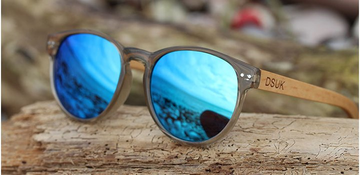 Polarized Bamboo & Acetate Wooden Sunglasses | DSUK Woods