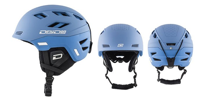 Dirty Dog Ski Helmet Zodiac 46256 | Matte Pacific Blue