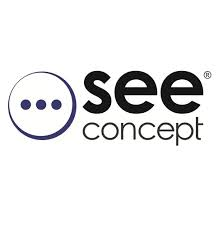see concept logo