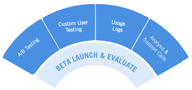 user experience strategy - evaluation and beta test