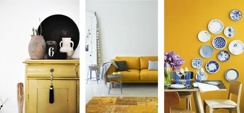 Okergeel de trendkleur voor 2016  Design Fabrix