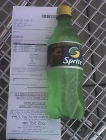 Humongous receipt