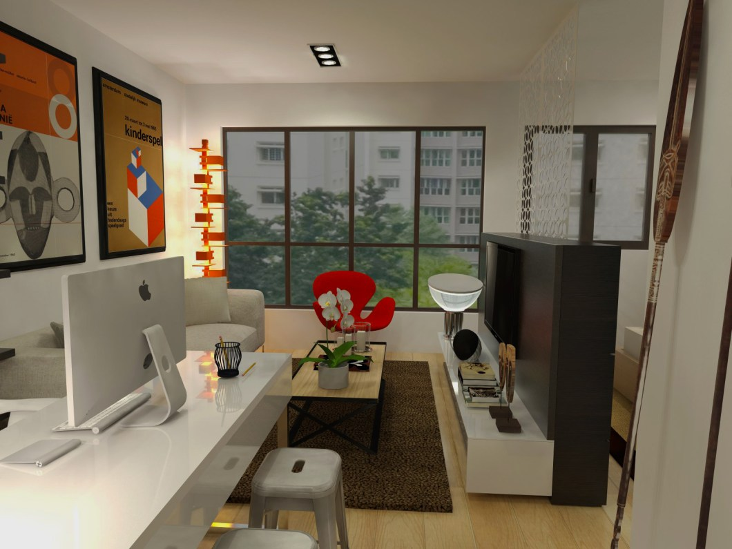 Hdb 2 room flat interior design ideas for Interior design 4 room hdb flat