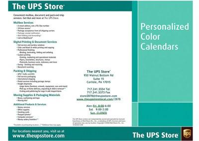 UPS Store Brochure
