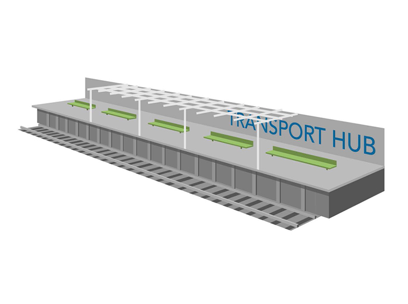 Transport Hub Graphic