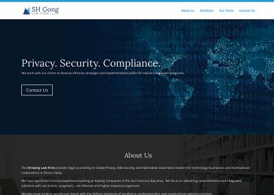 SH Gong Website