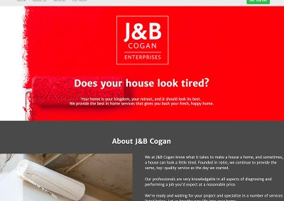 J&B Cogan Painting Website