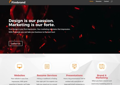 Firebrand Design Website