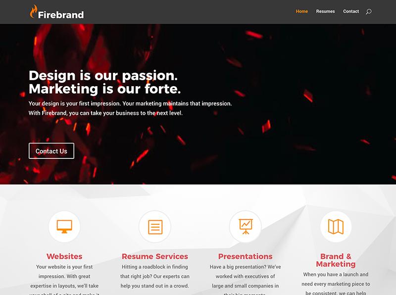 Firebrand Design Website