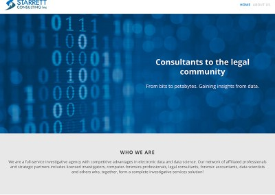 Starrett Consulting Website