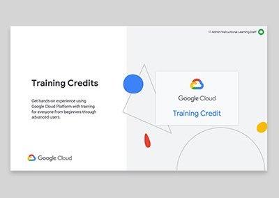 Google Cloud Higher Ed Programs Presentation