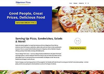 Edgartown Pizza Website