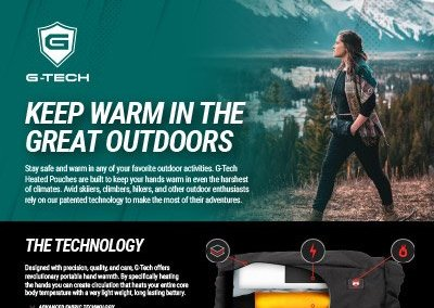 G-Tech Apparel Skiing and Hiking One Sheeter