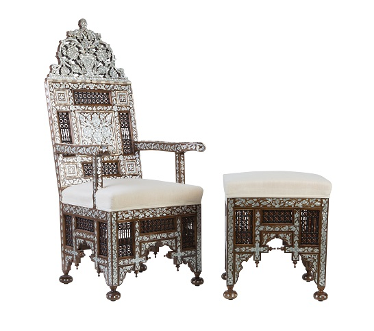 Lama Qaddumi-Shahin, Mosaique, My Mosaique, home store, boutique, Abu Dhabi, home accessories, shopping, interior design, business advice, retail entrepreneur, mother of pearl chair and side table