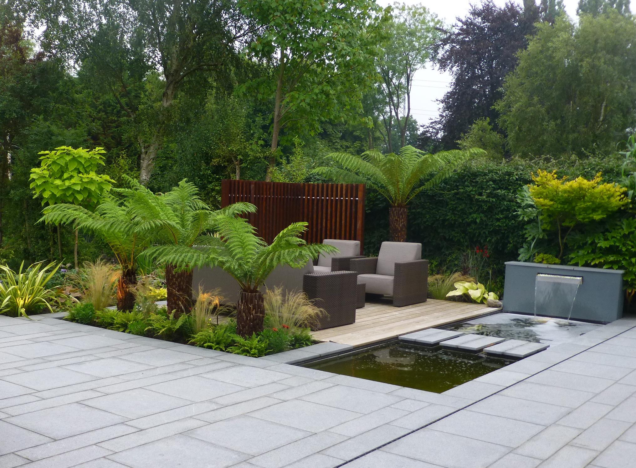 10 modern garden design ideas  Design for Me