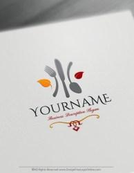 Free Food Logo Maker Online Restaurant Logo Template Design