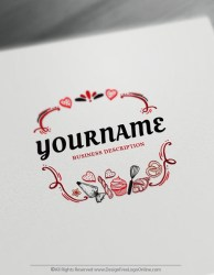 Free Bakery Logo Maker Create your own Cake Logos