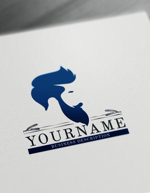 Simple Cool Logos : simple, logos, Barber, Maker, Create, Logos