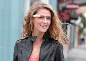 I see you. Google Glass prototype