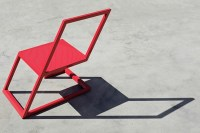 Contemporary Red Chair * XYZ Integrated Architecture ...