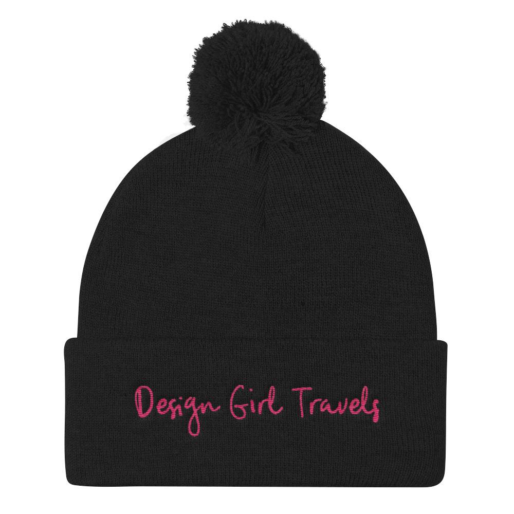 design girl travels pom