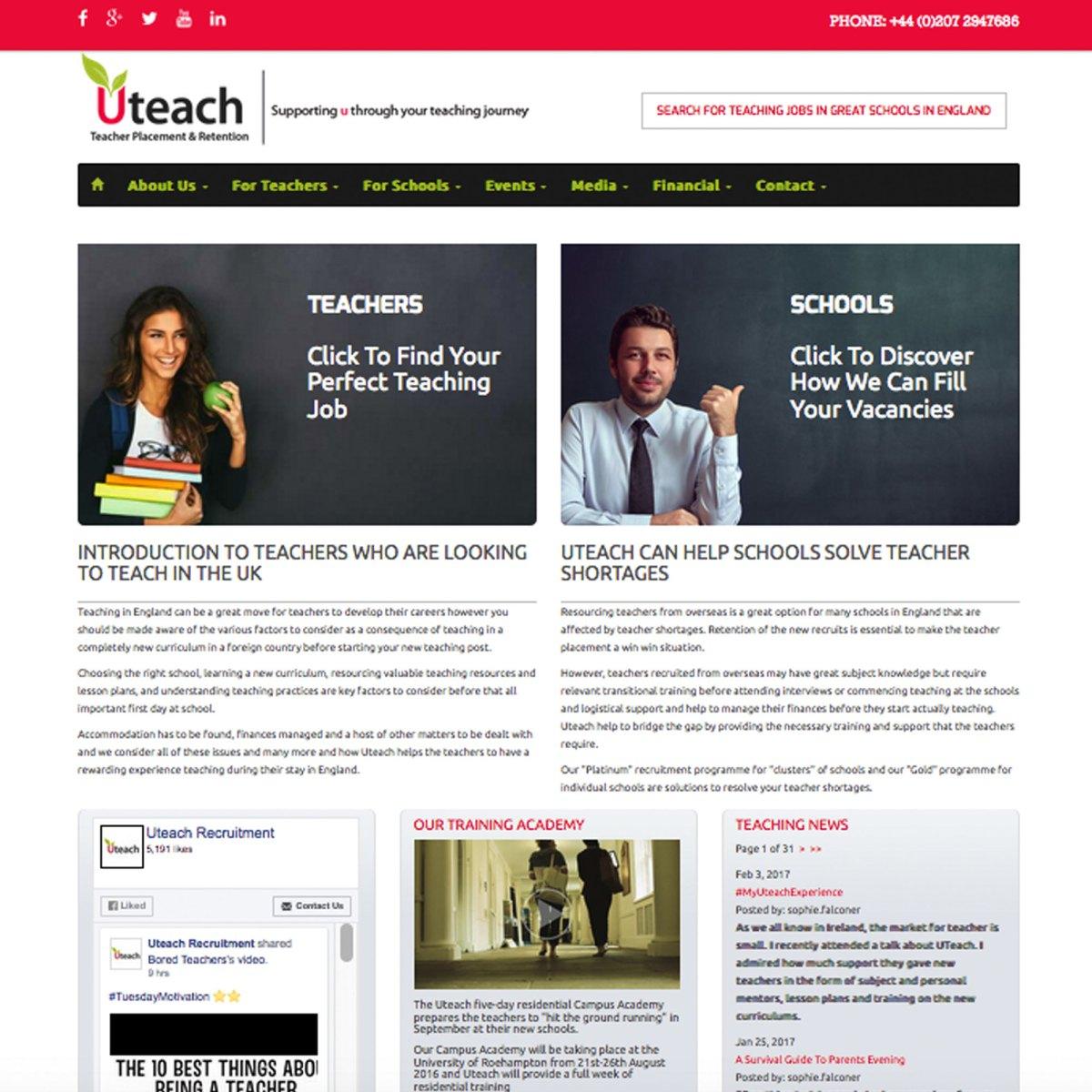 Uteach Recruitment