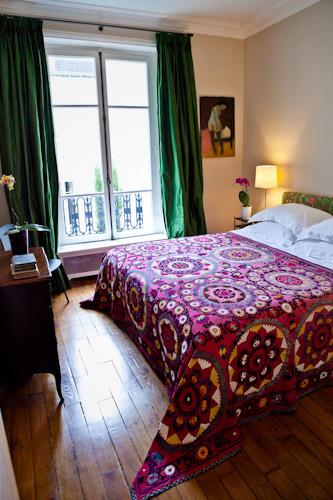haven in paris bedroom