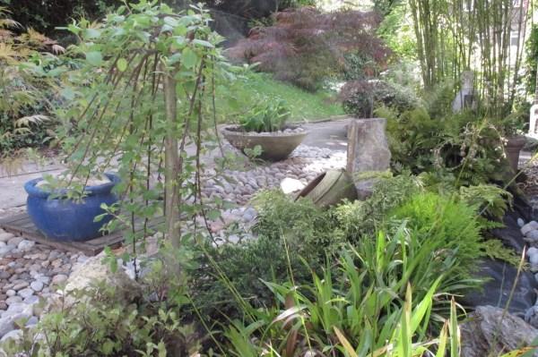 japanese garden dry river bed