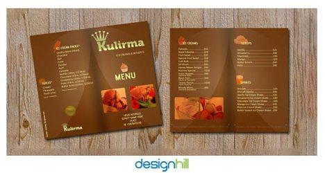 10 Most Appetizing Restaurant Menu Card Design