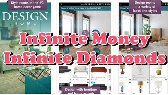 Design Home Cheats That Works! UNLIMITED DIAMONDS & MONEY Design