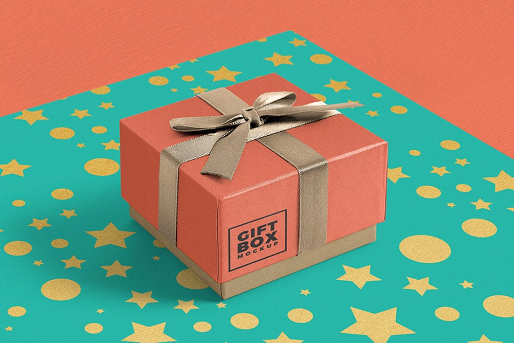 Download Download This Free Gift Box Mockup - Designhooks