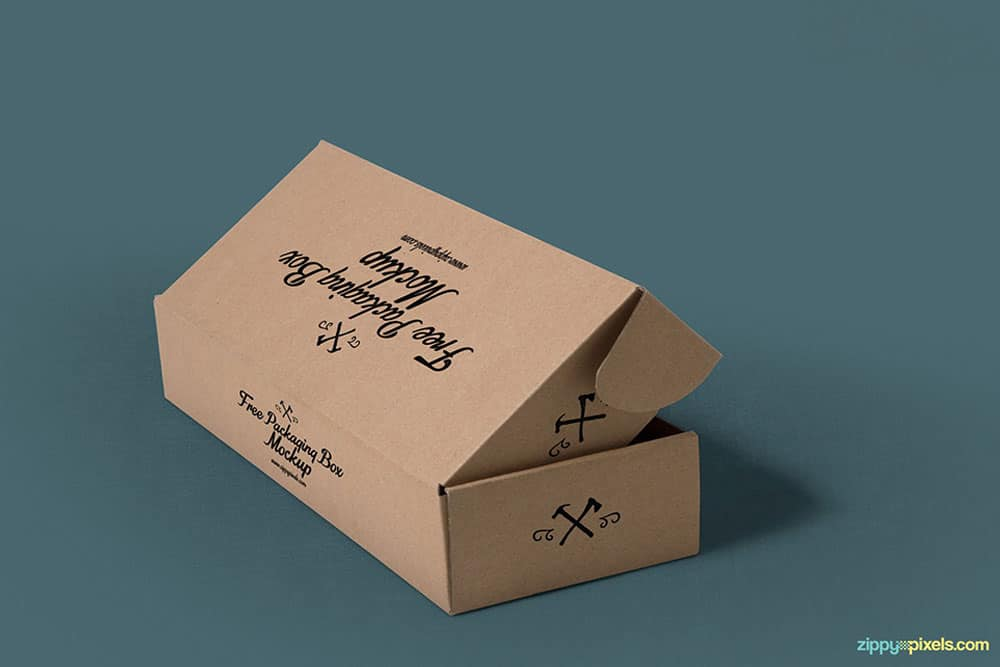 Download Download This Free Rectangular Box Packaging Mockup ...