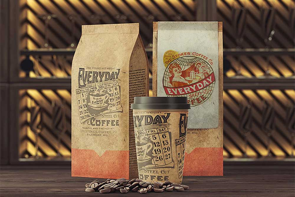 Download Download This Free Coffee Packaging Mockup Set - Designhooks