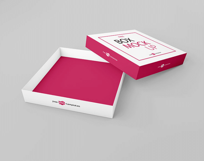Download Box Mockup Set PSD Template Download for Free - DesignHooks