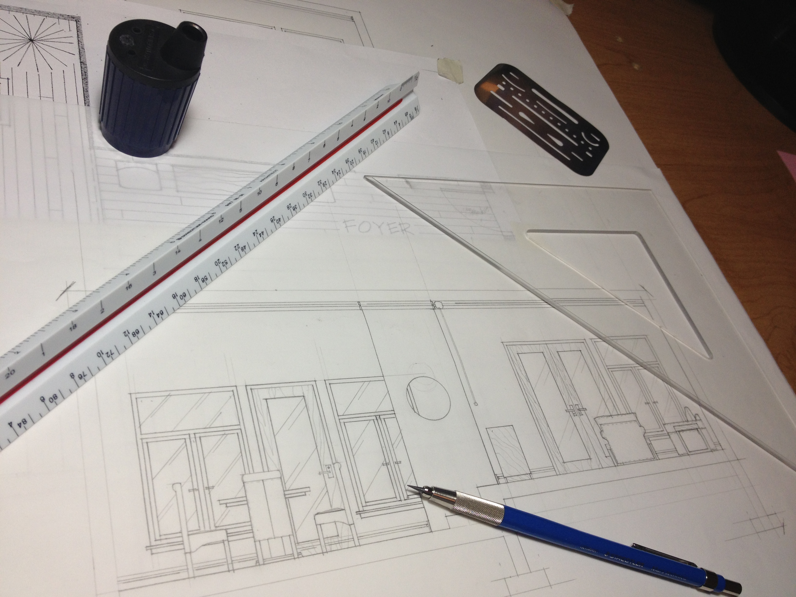 3 Quick Tips for Drafting Elevations  For Hand Drafting