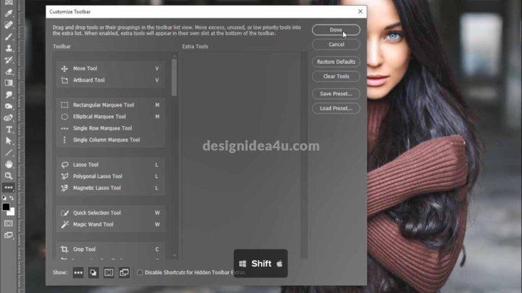 Toolbar Editor