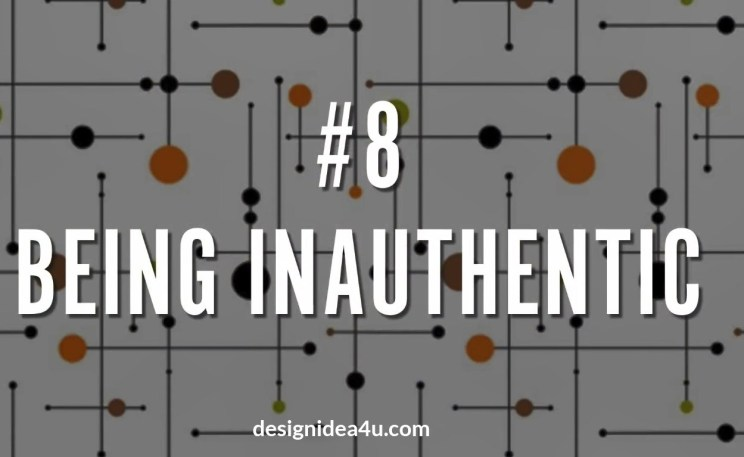 Being Inauthentic