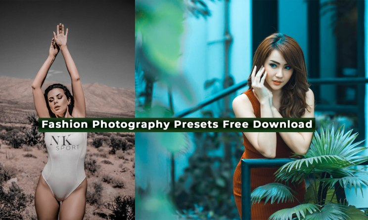Camera Raw Presets For Fashion Photography Free Download